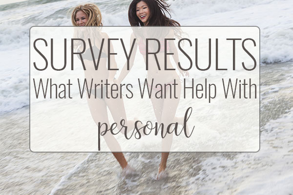 SURVEY RESULTS What Writers Want