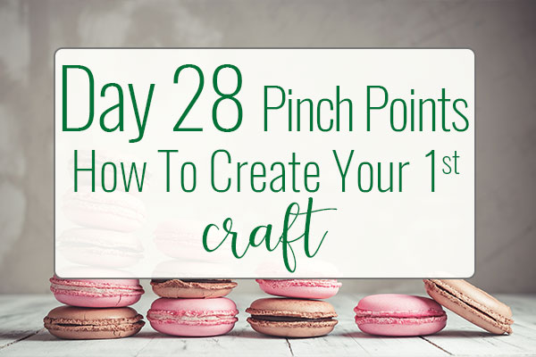 PREPtober Day 28 – How To Create Your Novel's First Pinch Point