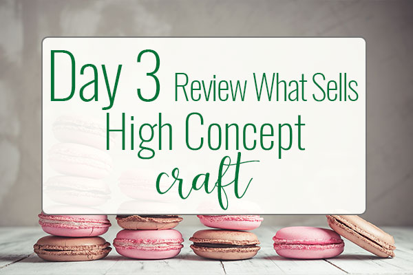 PREPtober Day 3 – What Is High Concept & How Can Help You Sell More Books