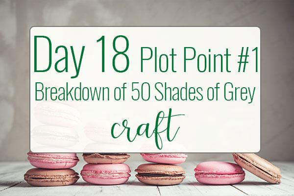 PREPtober Day 18 Plot Point #1 Breakdown of 50 Shades of Grey