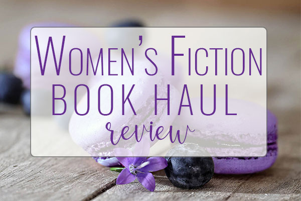 BOOK HAUL – Women's Fiction