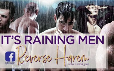 Reverse Harem Readers Group Scheduling Changes – It's Raining Men // FREE Facebook Group for Romance