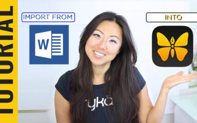 TUTORIAL How to import Word Documents into Ulysses