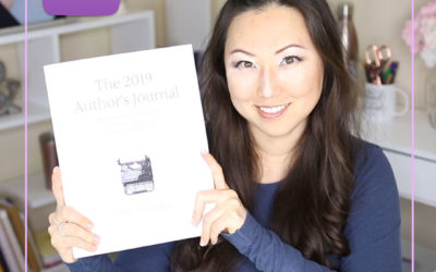 UNBOXING 2019 Author Planners from Audrey Ann Hughey